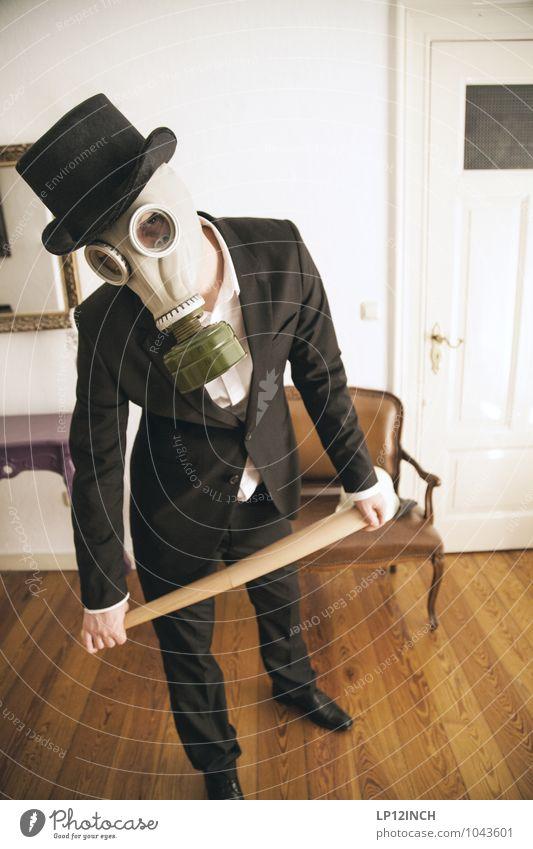Fein gemacht. IV Entertainment ausgehen Feste & Feiern Halloween maskulin Junger Mann Jugendliche 1 Mensch 18-30 Jahre Erwachsene 30-45 Jahre Jugendkultur