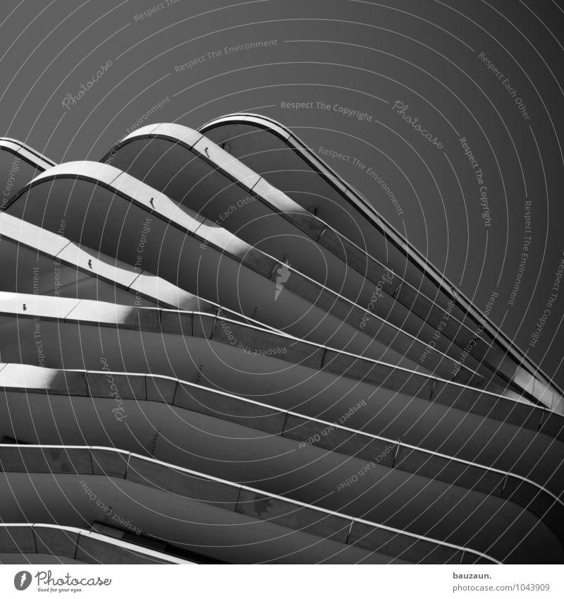 hamburger talabfahrt. Himmel Stadt Sonne Haus Wand Architektur Bewegung Gebäude Mauer Linie Fassade Häusliches Leben Hochhaus ästhetisch Beton Streifen