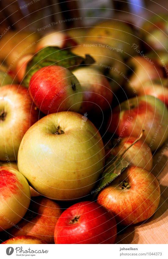 Kugellager II Natur grün rot natürlich Gesundheit Lebensmittel Frucht frisch Ernährung Fitness süß kaufen Kochen & Garen & Backen Ernte Apfel Kugel