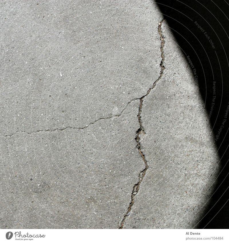 Cracking up Hintergrundbild einfach Quadrat Monochrom