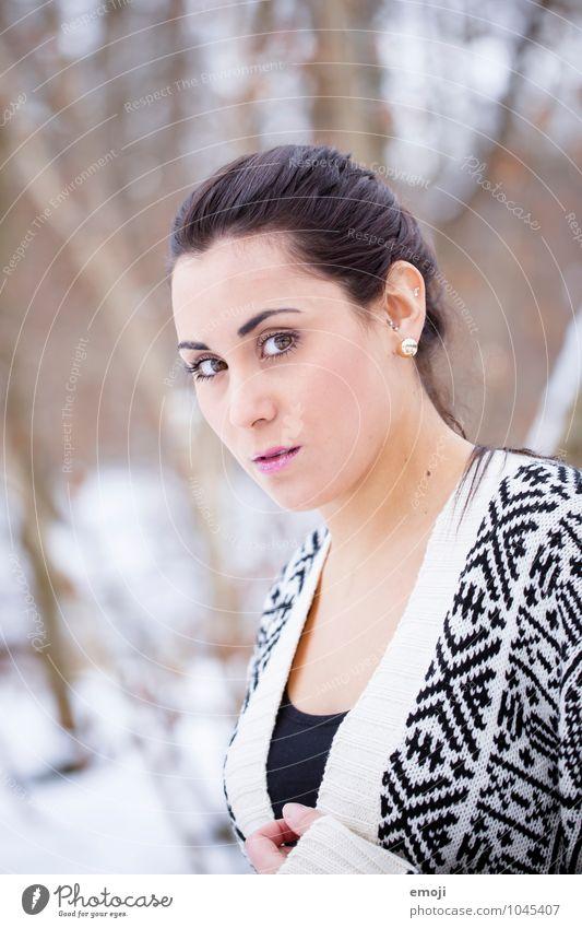 »« feminin Junge Frau Jugendliche Gesicht 1 Mensch 18-30 Jahre Erwachsene schön Farbfoto Außenaufnahme Tag Schwache Tiefenschärfe Porträt Blick in die Kamera
