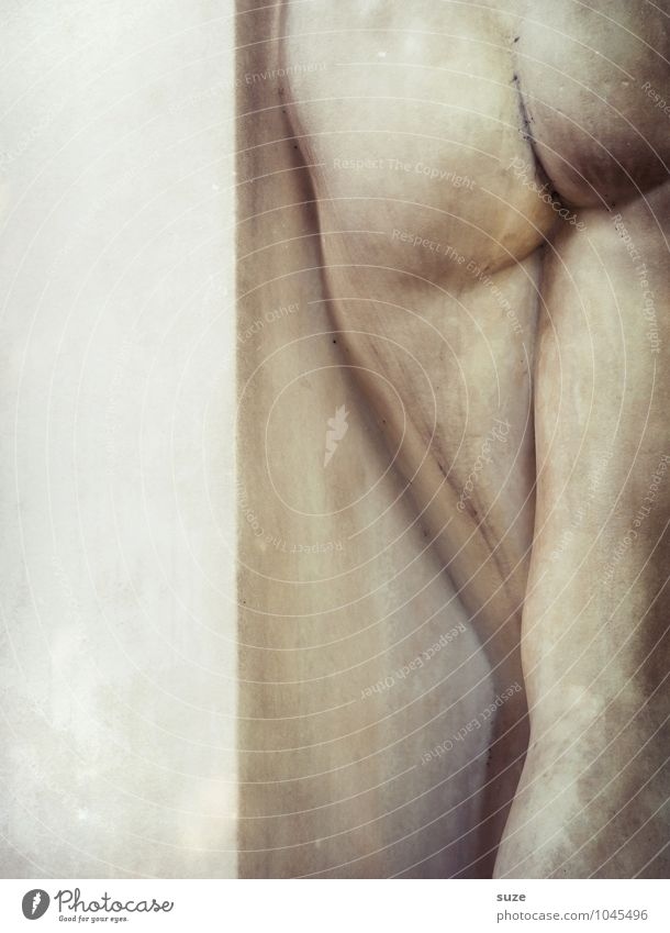 Po-Pose schön Körper Gesundheit Alternativmedizin Gesäß Kunst Kunstwerk Skulptur Kultur Stein ästhetisch elegant nackt natürlich Tugend Erotik Kreativität