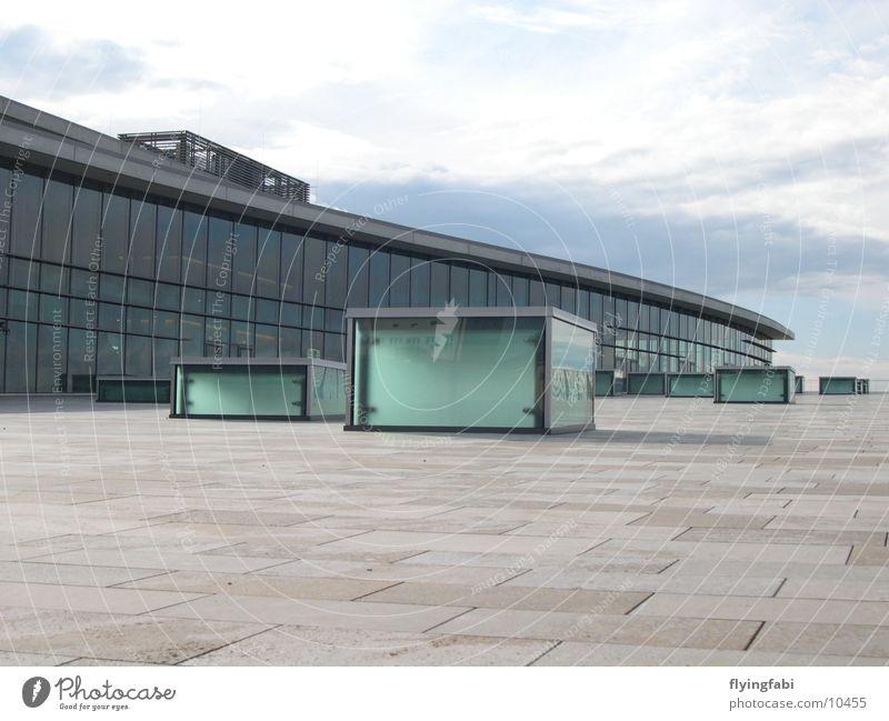Kongresszentrum Dresden Gebäude Stil Architektur Messe modern
