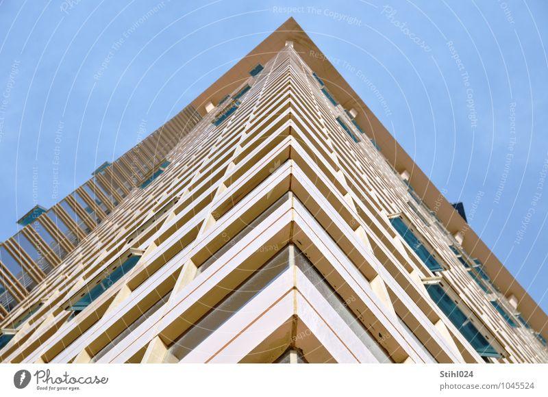 rechter Winkel Städtereise Haus Traumhaus Dubai Business Bay Vereinigte Arabische Emirate Hauptstadt Skyline Gebäude Architektur Hochhaus Hochhausfassade