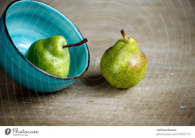 Birnen Lebensmittel Frucht Bioprodukte Vegetarische Ernährung Diät Fasten Schalen & Schüsseln Gesundheit natürlich saftig sauer schön süß blau braun gelb grün