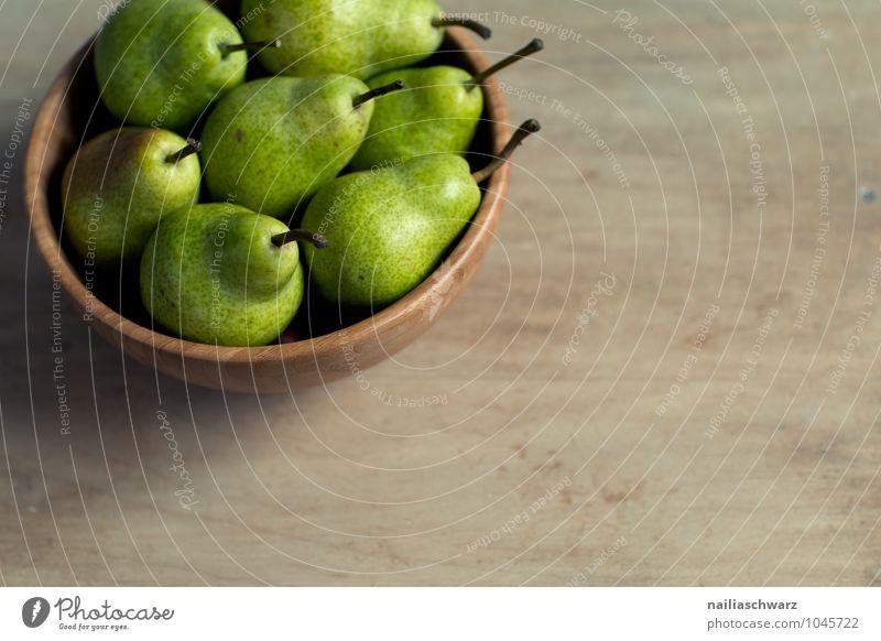 Frische Birnen schön grün Farbe natürlich Gesundheit braun Lebensmittel Zusammensein Frucht frisch Ernährung genießen süß rein Bioprodukte Duft