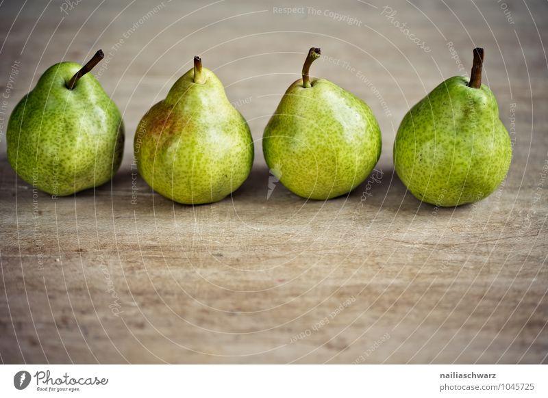 Birnen Lebensmittel Frucht Apfel Ernährung Bioprodukte Vegetarische Ernährung Diät Fasten Duft frech lecker natürlich saftig schön süß braun gelb grün