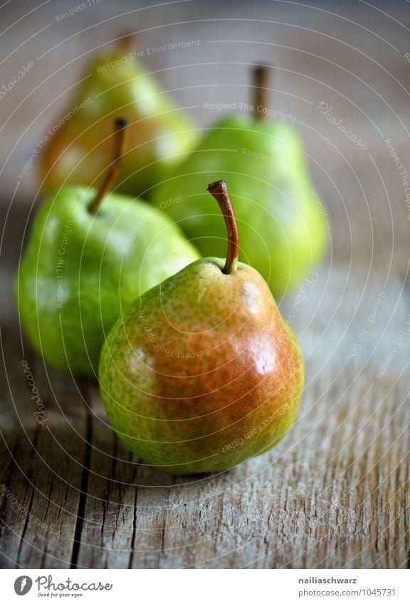 Birnen Lebensmittel Frucht Apfel Ernährung Bioprodukte Vegetarische Ernährung Diät Duft Gesundheit glänzend lecker natürlich saftig schön braun grün rot Kraft
