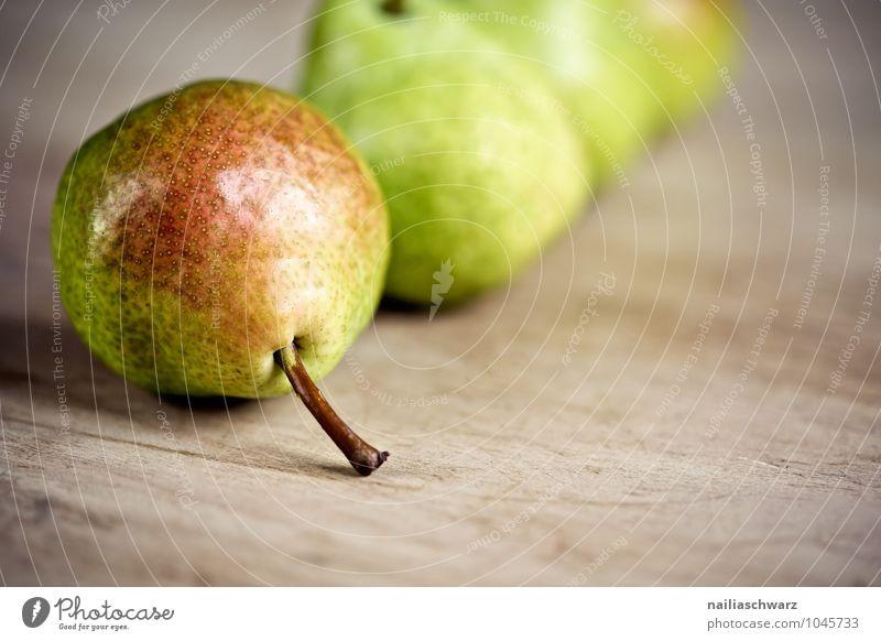 Birnen grün rot gelb natürlich Gesundheit Lebensmittel Frucht Ordnung Ernährung genießen einfach niedlich süß lecker Bioprodukte Duft