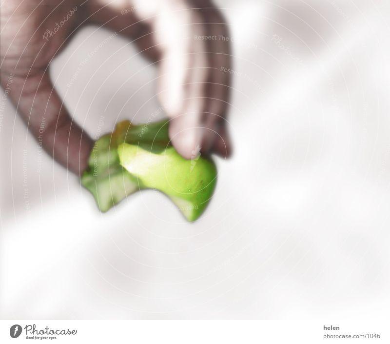apfelkitsche Hand Fototechnik Apfel Frucht