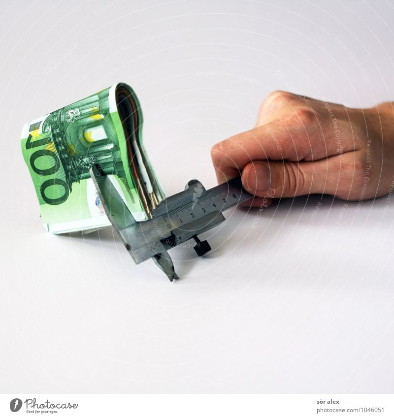 Rentabilität Wirtschaft Industrie Handwerk Kapitalwirtschaft Börse Geldinstitut Business Mittelstand Unternehmen Erfolg Werkzeug Messinstrument Längenmessgerät