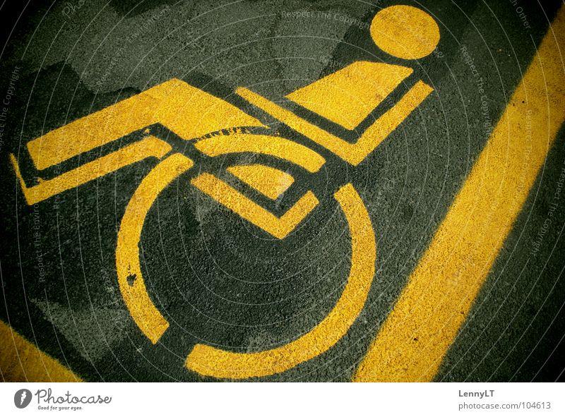 PARALYSIS Gesundheit Hilfsbereitschaft Hinweisschild Schwäche Behinderte Hilfsbedürftig sensibel Einschränkung Anomalie Deprivation Querschnittslähmung