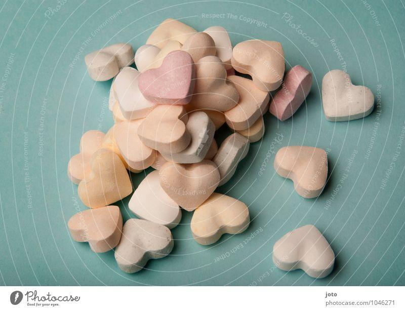 Mit Liebe überhäuft Lebensmittel Süßwaren Ernährung Valentinstag Muttertag Hochzeit Geburtstag 3 Mensch Herz Zusammensein lecker retro süß rosa Warmherzigkeit