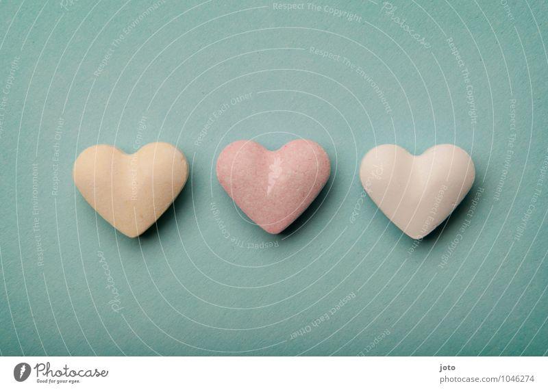love, love, love... Valentinstag Muttertag Hochzeit Geburtstag Herz retro rosa Warmherzigkeit Liebe Verliebtheit Romantik Hoffnung Partnerschaft Leichtigkeit