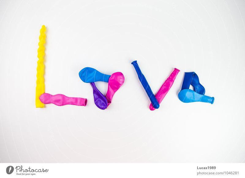 Love blau weiß Erotik gelb Liebe Feste & Feiern rosa Sex Luftballon violett Ballone blasen Begierde Kondom
