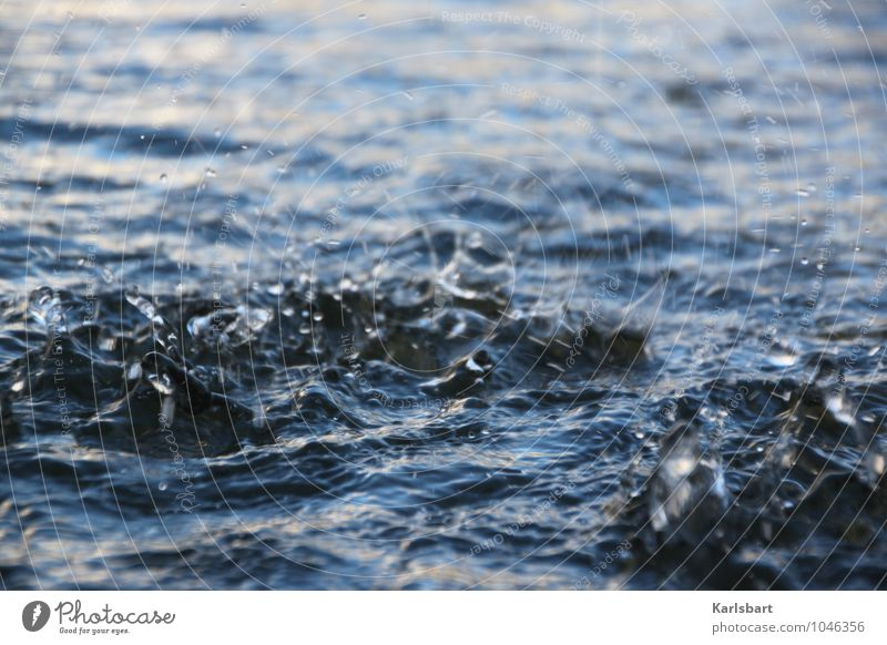 Gesang der Geister über den Wassern Natur blau Erholung Leben Bewegung Schwimmen & Baden Wellen Wassertropfen nass Wandel & Veränderung Fluss Wellness Flussufer