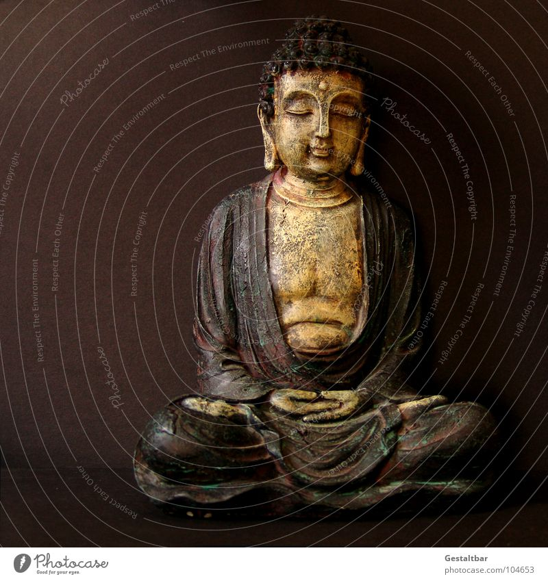 Jeder Tag ist ein guter Tag. ruhig Leben Religion & Glaube Zufriedenheit Kraft sitzen Suche leer Energiewirtschaft Wellness Dekoration & Verzierung rein Konzentration Alkoholisiert Meditation Skulptur