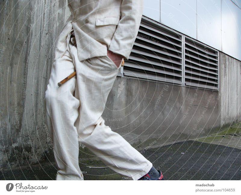 END | STARRING: STIG_INGE [K*LAB*] | ENDE Mann Anzug Spazierstock Körperhaltung Mensch Lifestyle Sonnenbrille Aktion schick Bremen Karriere Bewegung