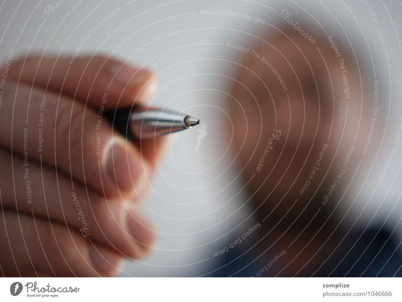 Unterschrift Hand Haus sprechen Lifestyle Linie Business Büro Häusliches Leben Erfolg Schriftzeichen Zukunft Finger Telekommunikation schreiben Wirtschaft