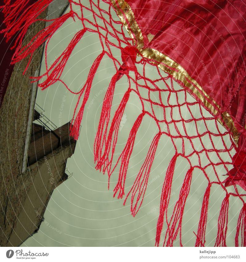 chinatown rot Haus gold Fassade Netz Dekoration & Verzierung Mitte China Japan Tuch Ornament Ghetto Chinese Olympiade Seide Peking