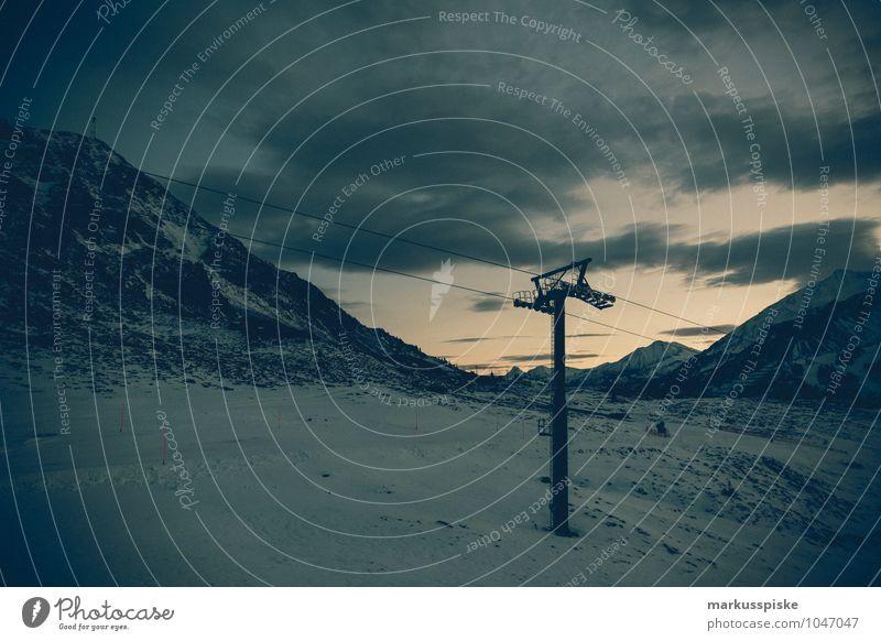 obertauern hundskogel plattenspitz Ferne Winter Berge u. Gebirge Schnee Freiheit Felsen Tourismus Freizeit & Hobby leer Seil Gipfel Alpen Schneebedeckte Gipfel