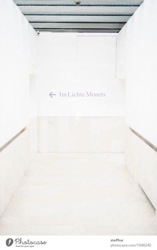 Gehe ins Licht Gebäude hell Kunst Museum Künstler Ausstellung