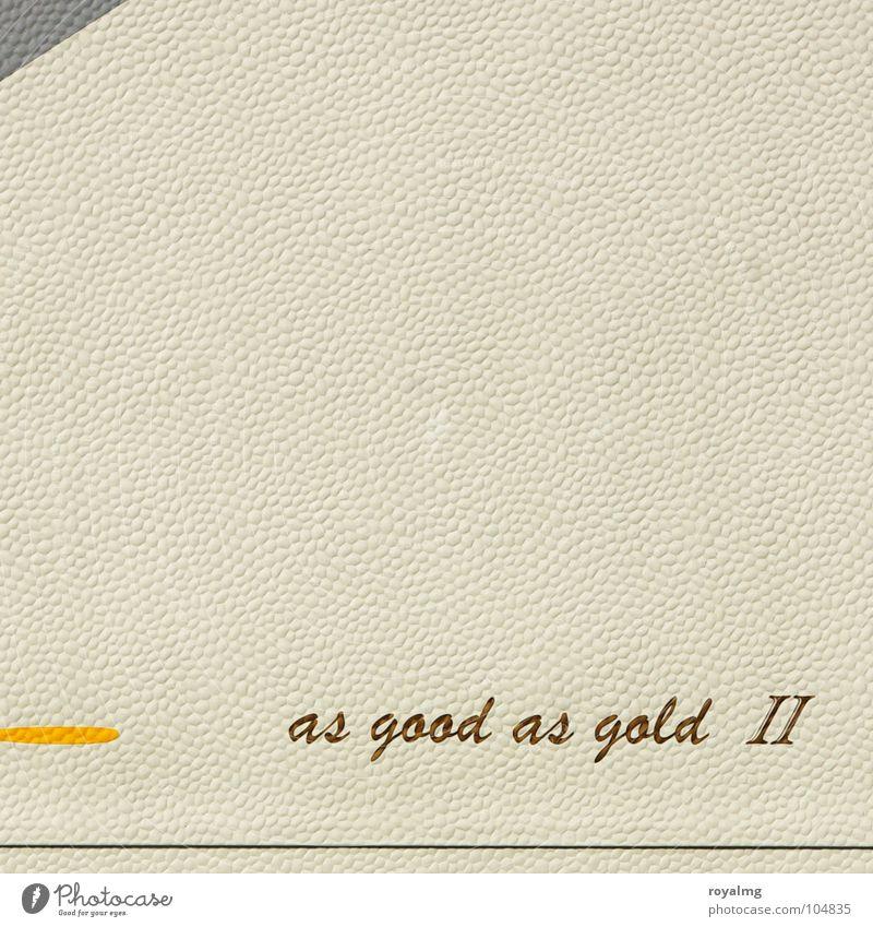 ab ins wochenende gelb grau weiß Buchstaben Schriftzeichen gold Linie Strukturen & Formen