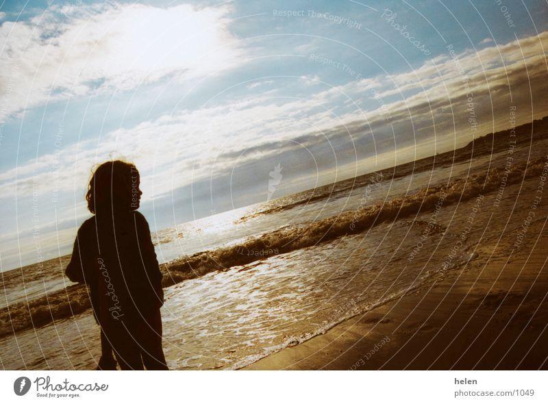 abendstimmung Strand Wolken Stimmung Abend
