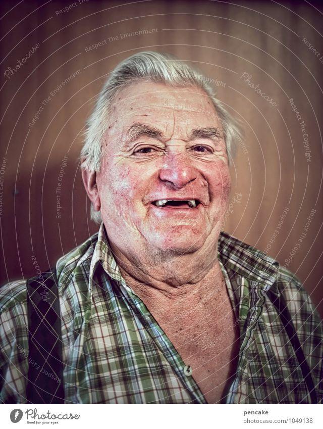 langlebig | mir san mir maskulin Männlicher Senior Mann 60 und älter alt authentisch Erfolg frei Fröhlichkeit listig lustig natürlich Originalität positiv klug