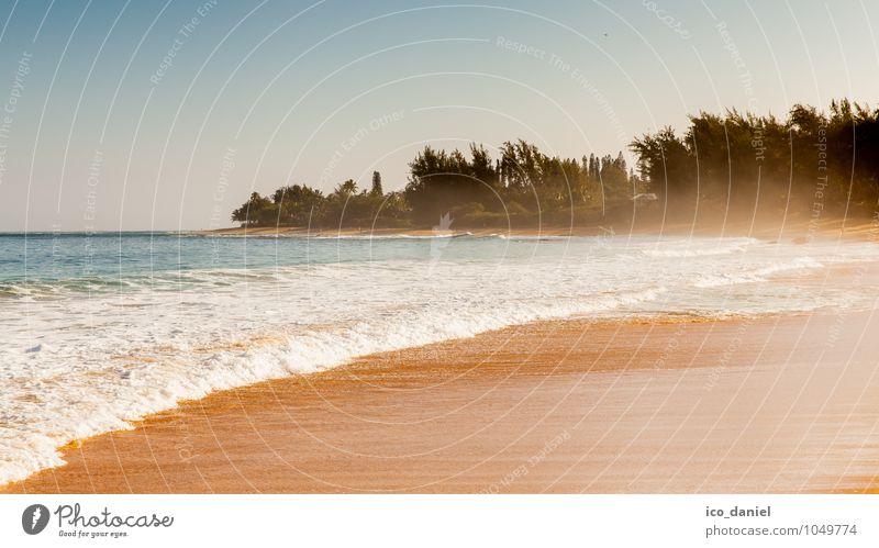 hawaiian beach Ferien & Urlaub & Reisen Wasser Sommer Sonne Meer Landschaft Freude Strand Ferne Küste Glück Freiheit Schwimmen & Baden Horizont Lifestyle