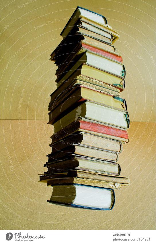 Bücher Buch Stapel Antiquariat Literatur Studium Student Information Weisheit Wahrheit Mitteilung Bibliothek Buchhalter Buchführung Verlag Buchbinder Bildung