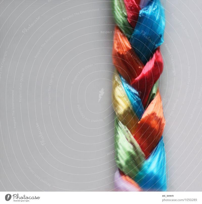 Zopf Lifestyle elegant Stil Design harmonisch Basteln binden Kindergarten Textilien Mode Accessoire Netzwerk hängen leuchten ästhetisch glänzend positiv