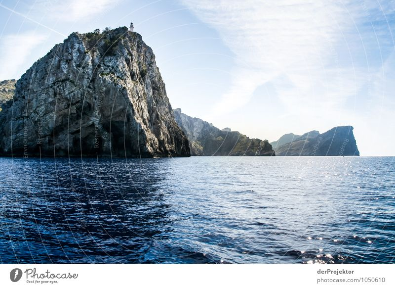 Mallorca von seiner schönsten Seite 12 - mit Leuchtturm Natur Ferien & Urlaub & Reisen Pflanze Sommer Meer Landschaft Tier Umwelt Berge u. Gebirge Gefühle Küste Felsen Wellen Tourismus Verkehr Insel
