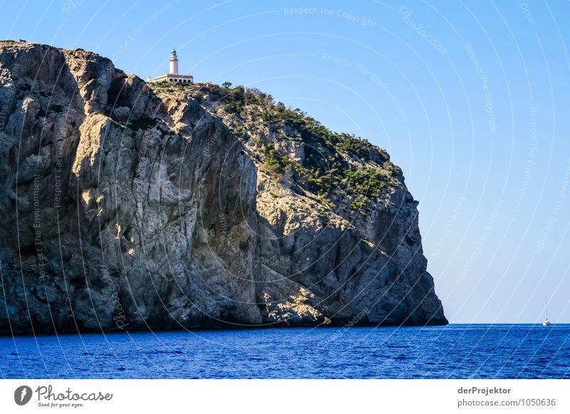 Mallorca von seiner schönen Seite 32 – Faro de Formentor Natur Ferien & Urlaub & Reisen Pflanze Sommer Meer Landschaft Tier Strand Berge u. Gebirge Umwelt Küste Felsen Tourismus Wellen Insel Ausflug