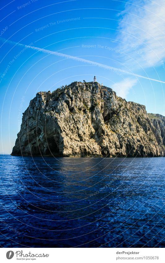 Mallorca von seiner schönen Seite 38 – Faro de Formentor Natur Ferien & Urlaub & Reisen blau Pflanze Sommer Meer Landschaft Freude Ferne Umwelt Berge u. Gebirge