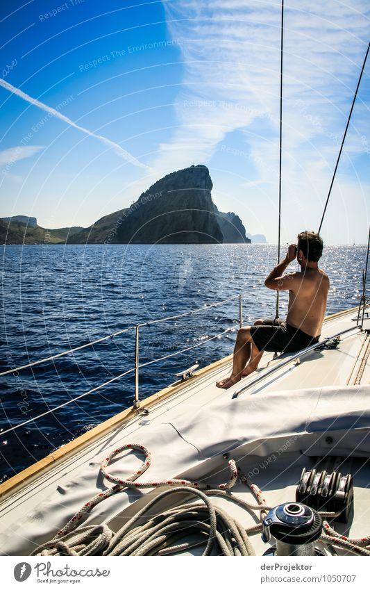 Mallorca von seiner schönen Seite 36 – Land in Sicht Natur Ferien & Urlaub & Reisen Pflanze Meer Landschaft Freude Ferne Umwelt Berge u. Gebirge Gefühle Küste
