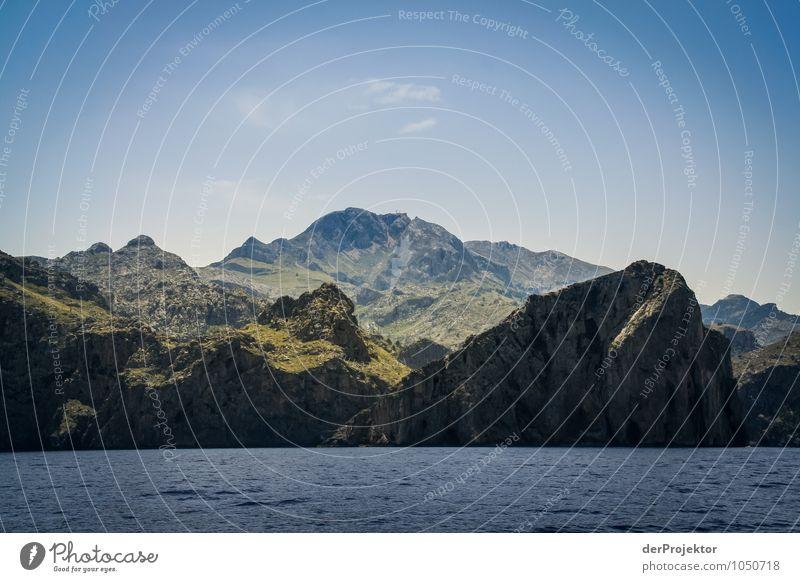Mallorca von seiner schönen Seite 35 – Massiv Natur Ferien & Urlaub & Reisen Pflanze Sommer Meer Landschaft Ferne Berge u. Gebirge Umwelt Wiese Küste Freiheit