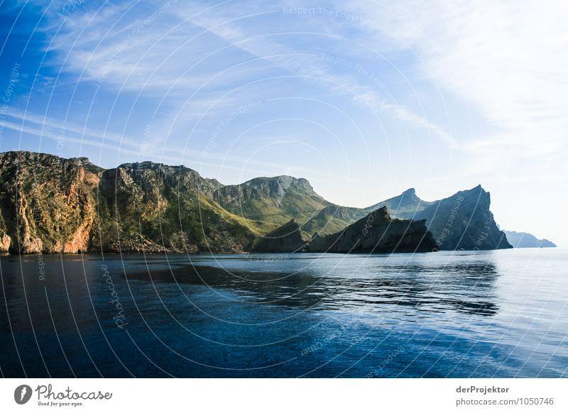 Mallorca von seiner schönsten Seite 13 - mit Sonnenschein Natur Ferien & Urlaub & Reisen Pflanze Sommer Meer Landschaft Freude Ferne Umwelt Berge u. Gebirge