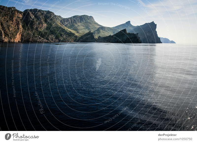 Mallorca von seiner schönen Seite 33 – Berge und Meer Natur Ferien & Urlaub & Reisen Pflanze Sommer Landschaft Ferne Strand Berge u. Gebirge Umwelt Gefühle