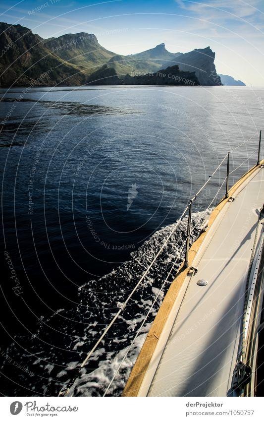 Mallorca von seiner schönen Seite 17 – mit Anschnitt Boot Natur Ferien & Urlaub & Reisen Pflanze Sommer Meer Landschaft Freude Tier Ferne Umwelt