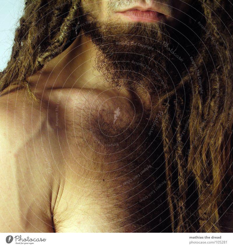 Mathias The Dread IV Mensch Mann Gesicht dunkel Haare & Frisuren hell Mund Kraft Arme Haut maskulin bedrohlich Falte lang Wut