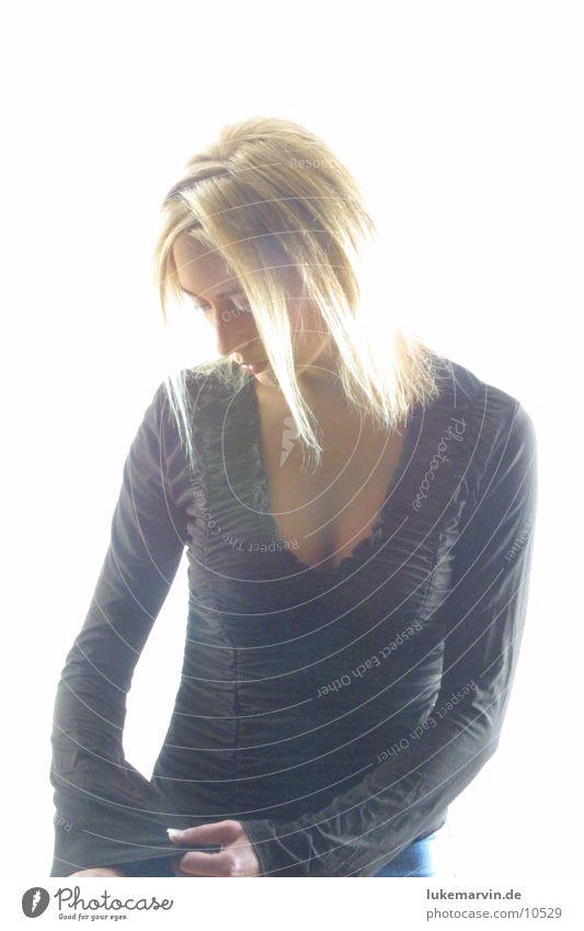 blond Frau Model