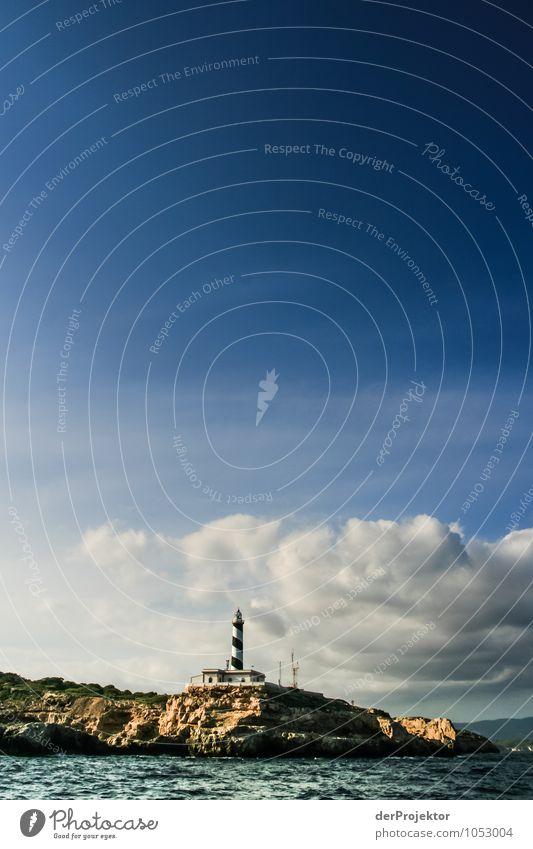 Mallorca von seiner schönen Seite 18 – mit Leuchtturm Natur Ferien & Urlaub & Reisen Pflanze Sommer Meer Landschaft Tier Ferne Umwelt Küste Freiheit Felsen