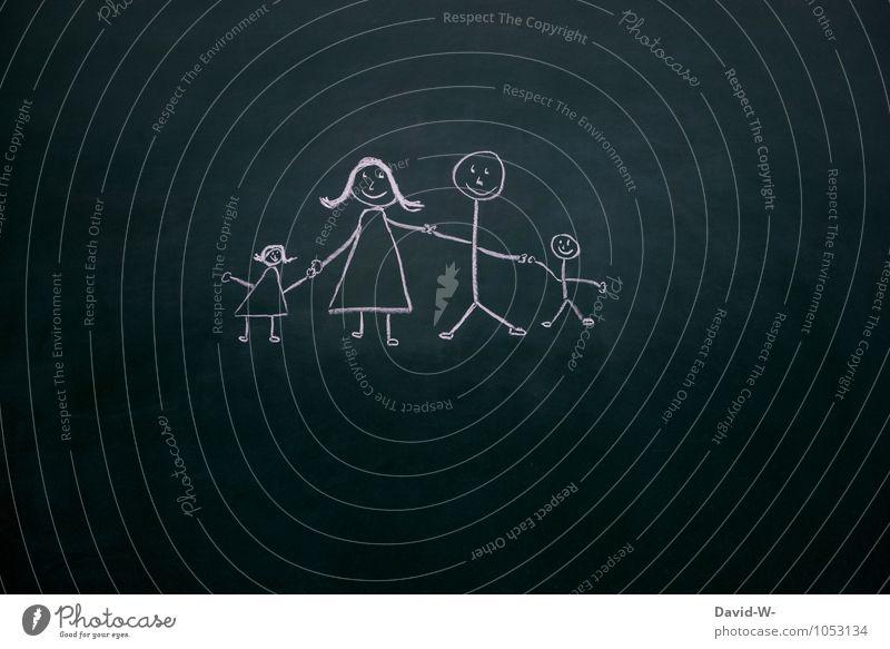 Family Mensch Frau Kind Mann Mädchen Erwachsene Liebe natürlich feminin Junge Familie & Verwandtschaft Zusammensein maskulin Zufriedenheit Kindheit Fröhlichkeit
