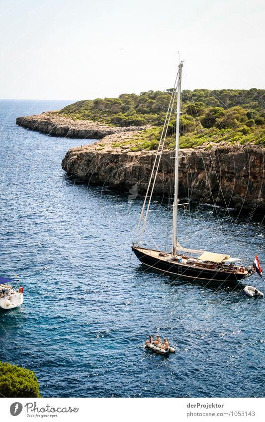 Mallorca von seiner schönen Seite 19 – mit Bucht Natur Ferien & Urlaub & Reisen Pflanze Sommer Meer Landschaft Strand Umwelt Gefühle Küste Freiheit Felsen
