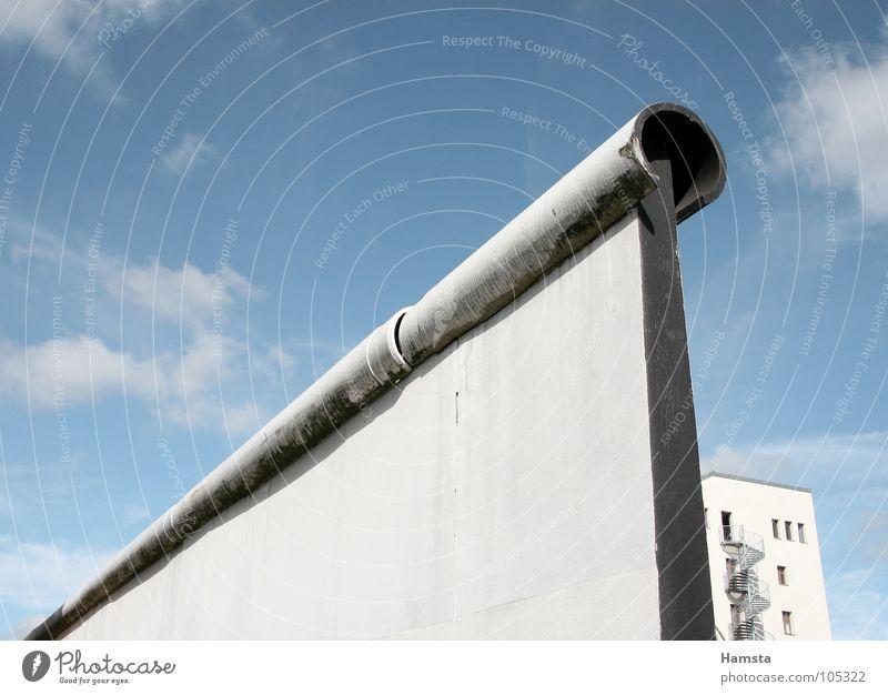 Berlin wall Mauer Berliner Mauer Osten Außenaufnahme Froschperspektive Querformat Wahrzeichen Denkmal Deutschland Hauptstadt Vergangenheit Detailaufnahme