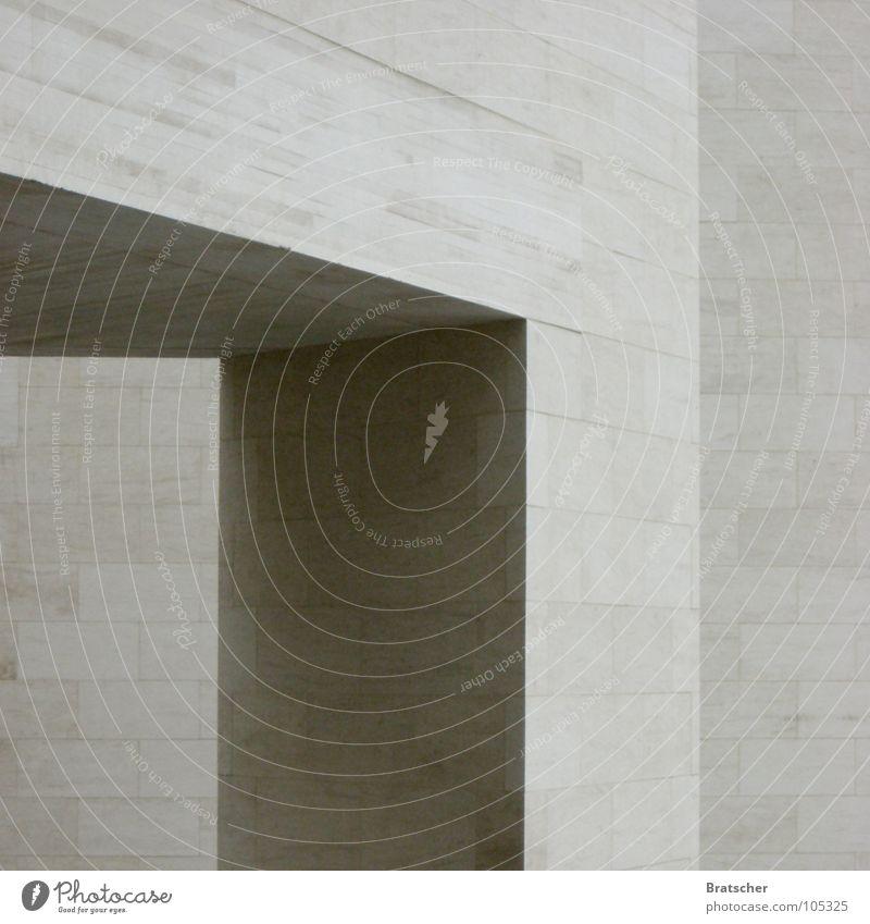 Über das Erhabene schön ruhig kalt Architektur Kunst Denken Stein modern einfach Ecke Coolness Pause Frieden Konzentration Denkmal eckig