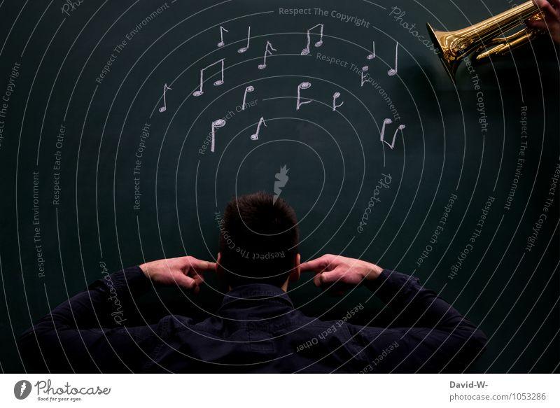 ich stehe auf Rockmusik Sinnesorgane ruhig Nachtleben Musik Bildung Mensch maskulin Junger Mann Jugendliche Erwachsene Leben 1 18-30 Jahre Kunst Künstler