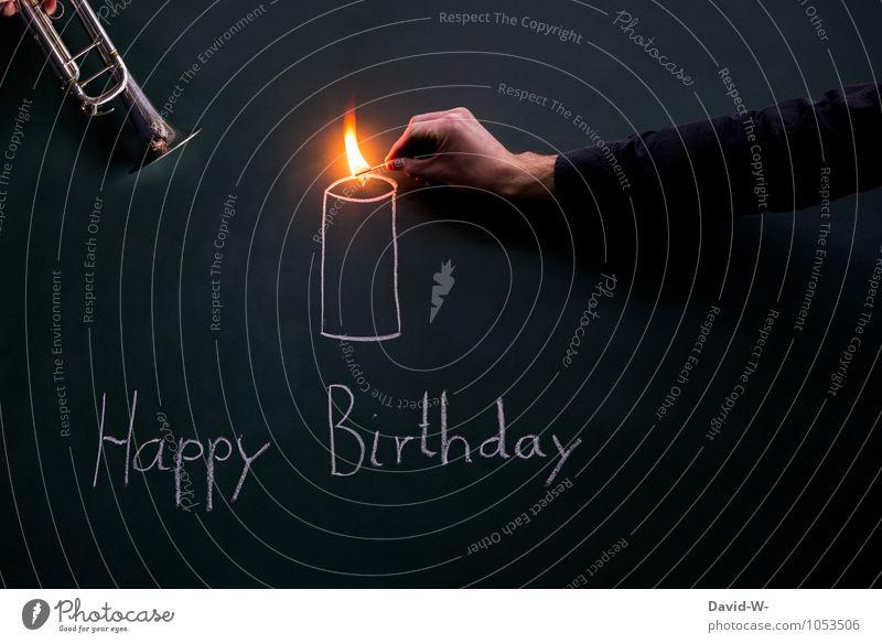 Happy Birthday - Geburtstagsständchen und Kerze Ständchen anzünden Trompete Musik