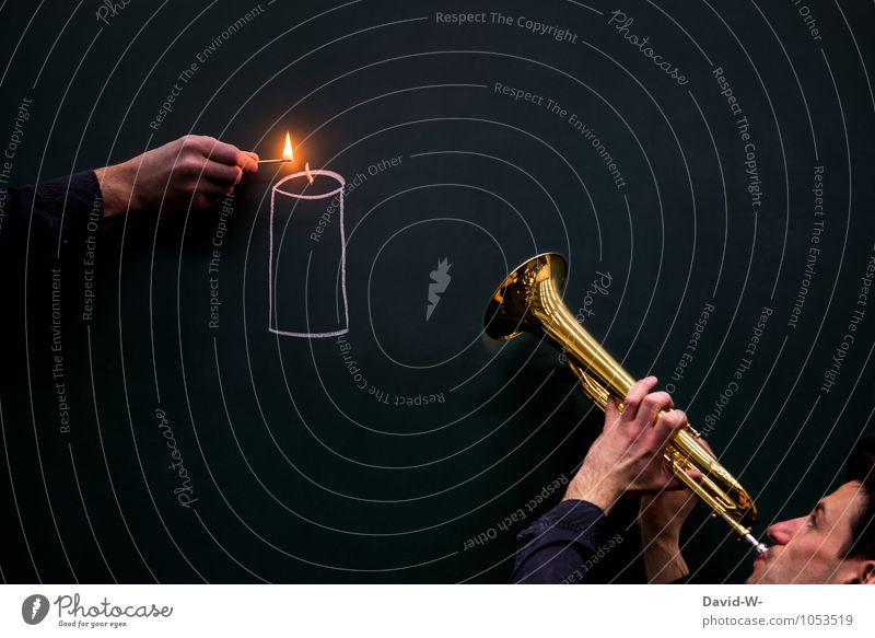 Trauermusik Glück Feste & Feiern Weihnachten & Advent Geburtstag Trauerfeier Beerdigung Taufe Tafel maskulin Junger Mann Jugendliche Kunst Künstler Musik